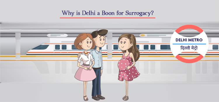 Why is Delhi a boon for Surrogacy?